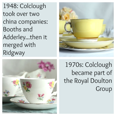 Colclough vintage china history