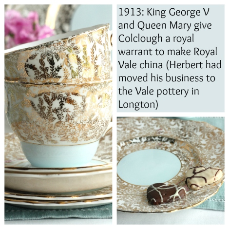 Colclough vintage china story