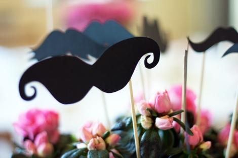 A photo o Handmade comedy moustaches