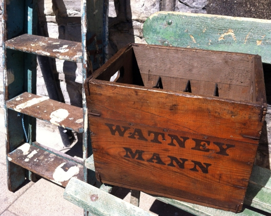 Vintage crate from Watney Mann