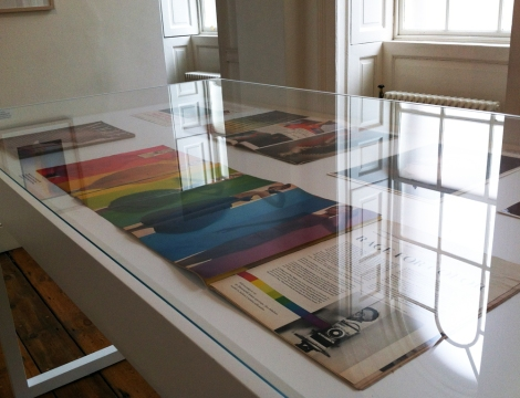 A photo of Light reflections in Somerset House gallery