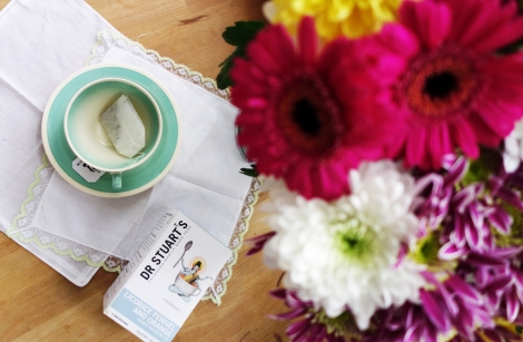 A photo of a Flowers with Susie Cooper tea cup and saucer