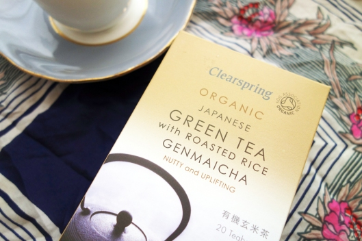 Clearspring Japanese green tea with roasted rice
