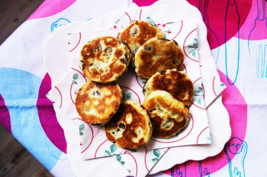 A picture of homemade Welsh cakes