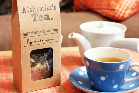 Peppermint Liquorice tea 6