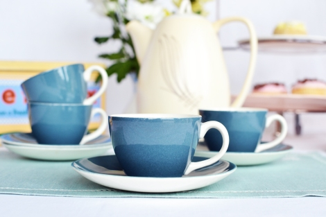 A picture of Poole vintage espresso cups