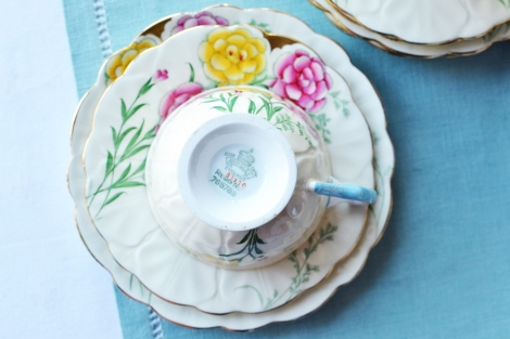 Aynsley vintage tea set 5