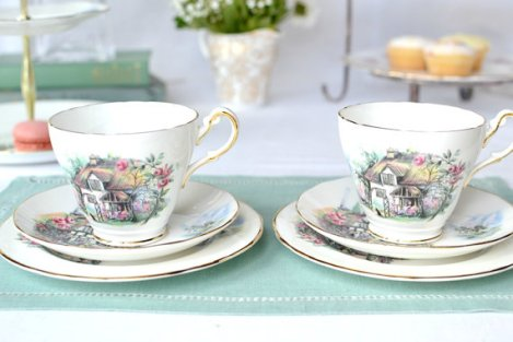 Duchess Brookfield tea cups