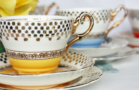 Harrowby yellow teaset2